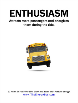 The Energy Bus Quotes Prepossessing The Energy Bus  Poster Download